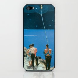 Space Tether iPhone Skin