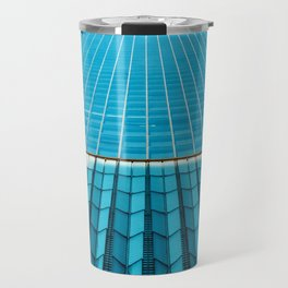 The Blue Architecture (Color) Travel Mug