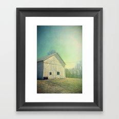 Country Morning Framed Art Print