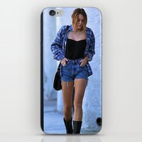 miley cyrus iPhone & iPod Skins featuring Miley Cyrus by radaaban