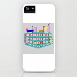 neon streets iPhone Case
