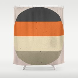 COLOR PATTERN III - TEXTURE Shower Curtain