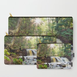 Upper Chapel Falls at Pictured Rocks National Lakeshore - Michigan Carry-All Pouch