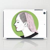 ellie goulding iPad Cases featuring Ellie by Iiris Ella
