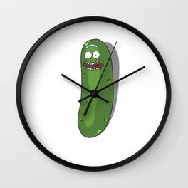 """I'm Pickle Rick, Whole """"Body"""" or Pickle Wall Clock"""