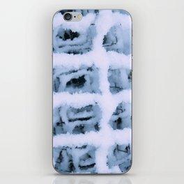 Snow Pattern iPhone Skin