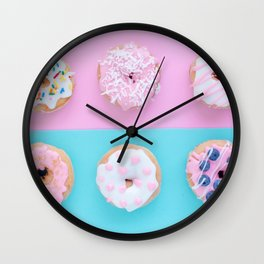 Donut Symmetry Wall Clock