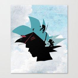 Kame House V2 Canvas Print