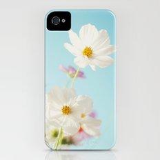 Garden of flowers. Slim Case iPhone (4, 4s)