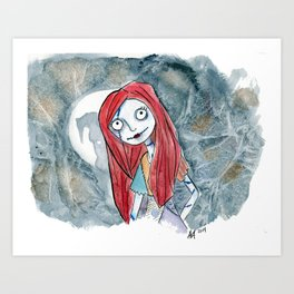 Sally Doll Art Print