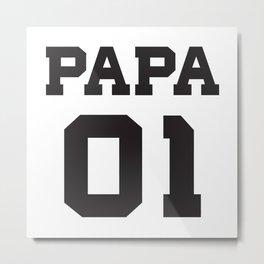 papa 01 Metal Print