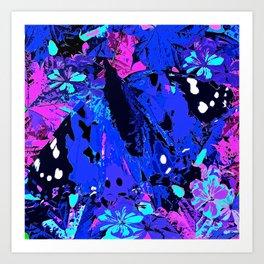 Abstract butterfly #2 Summer Art Print