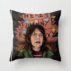 Joyce Stranger Things Throw Pillow