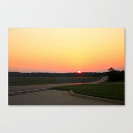 Statesville Sunset Canvas Print
