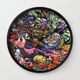 90's Comics Glump Wall Clock