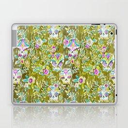 Skulls and Leaves Laptop & iPad Skin