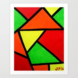Origami Art Print
