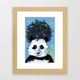Mad Panda Framed Art Print