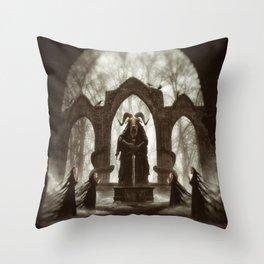 Binding Ritual Throw Pillow