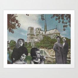 Notre Dames Art Print