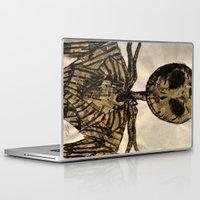 jack skellington Laptop & iPad Skins featuring jack skellington by TwistedPalace