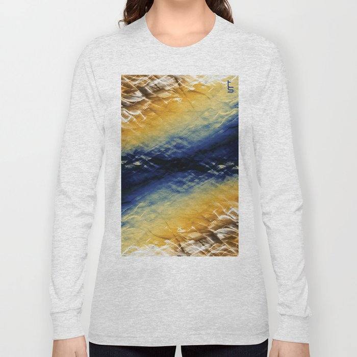 Tie-Dyed Waves Long Sleeve T-shirt