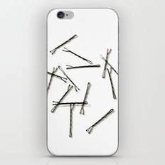 Bobby Pins Abstract iPhone & iPod Skin