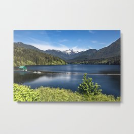 Capilano Lake Metal Print