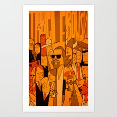 The Big Lebowski (variant aspect ratio) Art Print