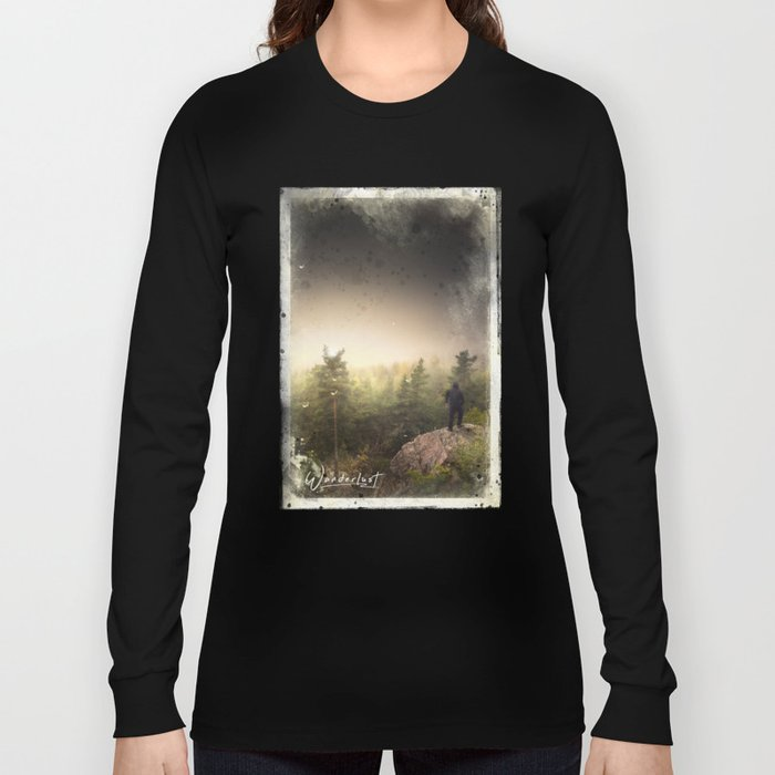 Im happily lost yet again Long Sleeve T-shirt