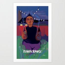 Temperance Art Print