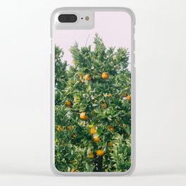 Oranges for Days Clear iPhone Case