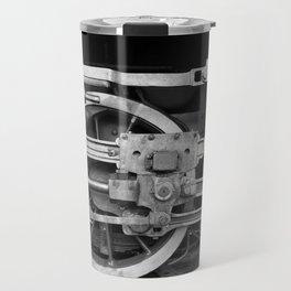 locomotive wheels Travel Mug