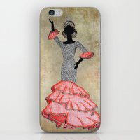 spain iPhone & iPod Skins featuring Spain by Dany Delarbre
