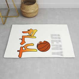 Deny and Fly tee design. Not just for basketball players out there but for all sports enthusiast!  Rug