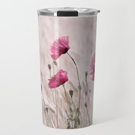 Poppy Pastell Pink Travel Mug
