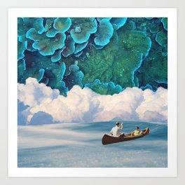 Row the Reef Art Print