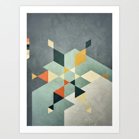 Shape_02 Art Print