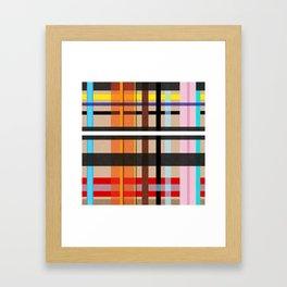 Kariert Englisch. Mit Karos gemustert. Framed Art Print