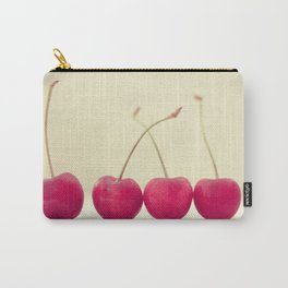 Cherry Line Carry-All Pouch