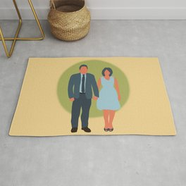 Save the Date - The Couple - Love Rug
