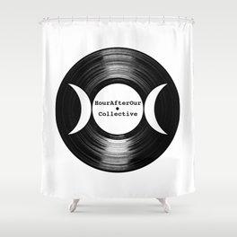 Music Goddess - HourAfterOur Logo Shower Curtain