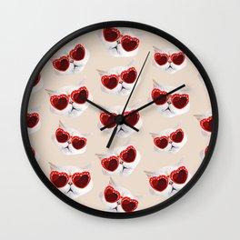 Lord Aries Cat - Pattern 005 Wall Clock