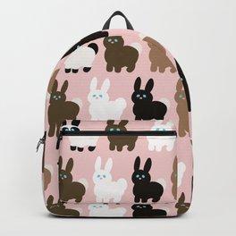 Spring bunny rabbits Backpack