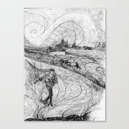 The Sower - rhytmns Canvas Print