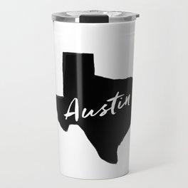 Austin, TX Travel Mug