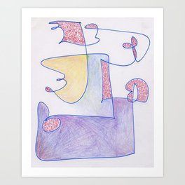 Hybrid 1 Art Print