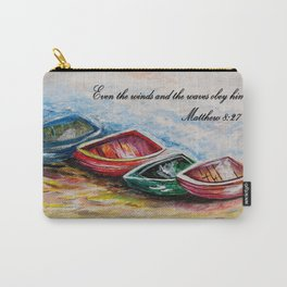 Even the Winds and Waves Carry-All Pouch