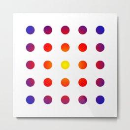 twentyfive dots o1 - soft Metal Print