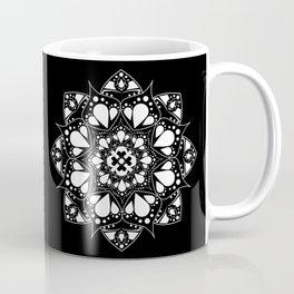 Mandala Black and White Magic Coffee Mug